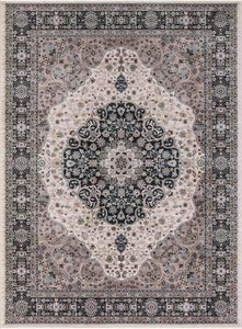 Concord Global Trading Area Rugs Kashan Ivory Area Rugs 2852 By Concord Global in 6 Sizes