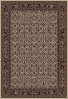Concord Global Trading Area Rugs Persian Classics 2012 Ivory-Blk Stair Runner and Area Rugs  Poly Turkey