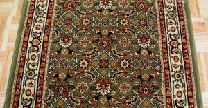 Concord Global Trading Area Rugs Persian Classics 2015 Green Stair Runner and Area Rugs  Poly Turkey