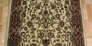 Concord Global Trading Area Rugs Persian Classics 2022 Ivory-Red Stair Runner and Area Rugs  Poly Turkey