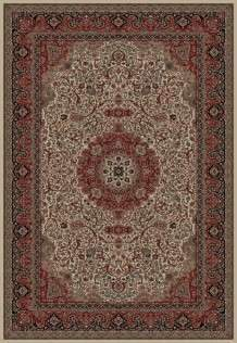 Concord Global Trading Area Rugs Persian Classics 2032 Ivory Stair Runner and Area Rugs  Poly Turkey