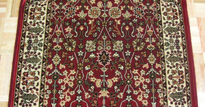 Concord Global Trading Area Rugs Persian Classics 2050 Red Stair Runner and Area Rugs  Poly Turkey