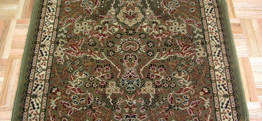 Concord Global Trading Area Rugs Persian Classics 2095 Green Stair Runner and Area Rugs  Poly Turkey
