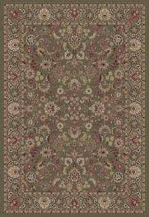 Concord Global Trading Area Rugs Persian Classics 2105 Green Stair Runner and Area Rugs  Poly Turkey