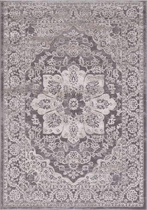 Concord Global Trading Area Rugs Thema Area Rug and Stair Runner 2911 Beige Poly Made In Turkey