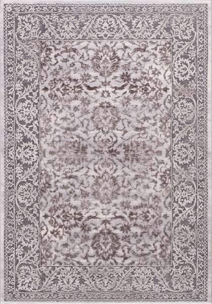 Concord Global Trading Area Rugs Thema Area Rug and Stair Runner 2928 Beige Grey Poly Made In Turkey