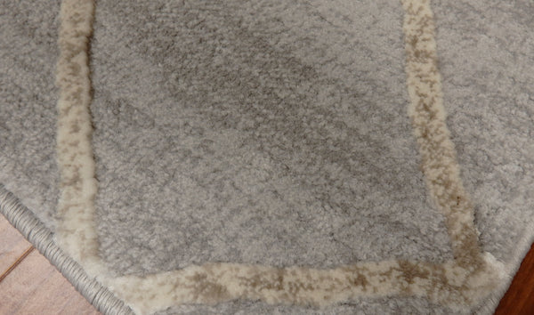 Concord Global Trading Area Rugs Thema Area Rug and Stair Runner 2970 Beige Grey Poly Made In Turkey