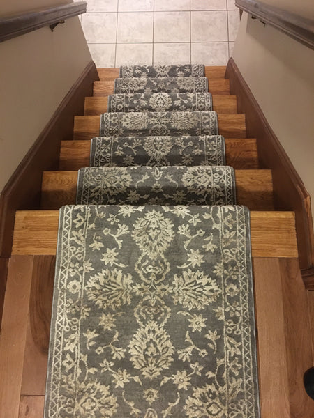 Concord Global Trading Area Rugs Thema Area Rug and Stair Runner 2981 Beige Grey Poly Made In Turkey