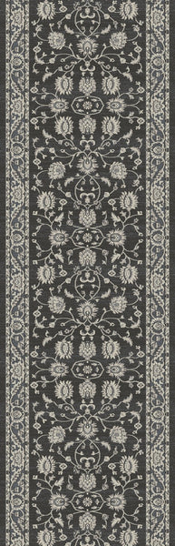 Provincia Charcoal Stair Runners 2823 By Rug Depot 6 Sizes Nashua