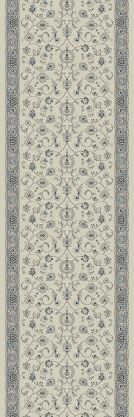 Provincia Ivory-Grey Stair Runners 2812 By Rug Depot 8 Sizes Nashua