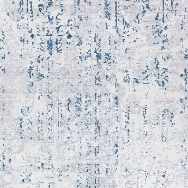 Couristan Area Rugs Calinda Kingsbury Steel Blue Area Rugs 5173-0758 Made In Turkey