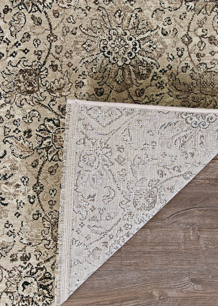 Couristan Area Rugs Easton Area Rugs 6335-6343 Beige in 43 Sizes and Unique Shapes