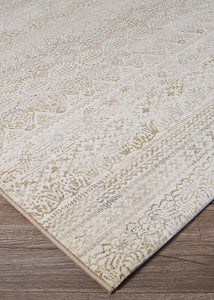 Couristan Area Rugs Easton Area Rugs 6822-6575 Ivory in 43 Sizes and Unique Shapes