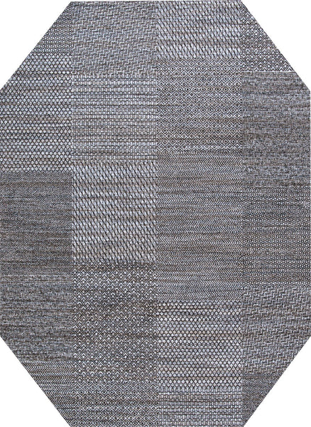 Long Octagon Couristan Rugs Nomad Area Rugs By Couristan 2617-7242Terra Firma Poly Made In Belgium