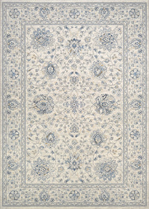 Couristan Area Rugs Sultan Treasures Area Rugs 7141-6666 Creme 7 Sizes 100% Poly Belgium