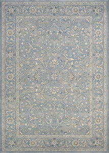 Couristan Area Rugs Sultan Treasures Area Rugs 7145-4646 Slate 7 Sizes 100% Poly Belgium