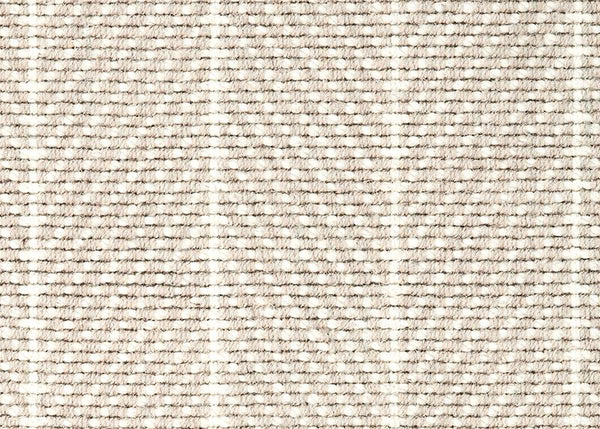 Couristan Stair Runners Canterbury 6359-0005 Bisque Herringbone Wool Assorted Products