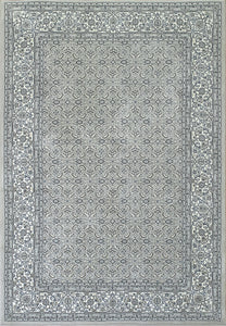 Dynamic Area Rugs Ancient Garden Area Rugs 57011-9666 Soft Grey 100% Poly Belgium 13 Sizes
