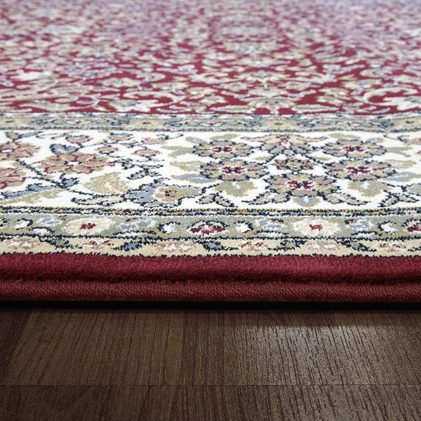Dynamic Rugs Area Rugs Ancient Garden  Area Rugs  57078-1414 Red  Poly 8 Sizes Belgium
