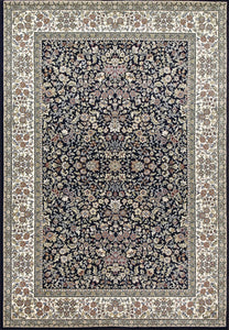 Dynamic Rugs Area Rugs Ancient Garden Area Rugs 57078-3434 Navy  Poly 8 Sizes Belgium