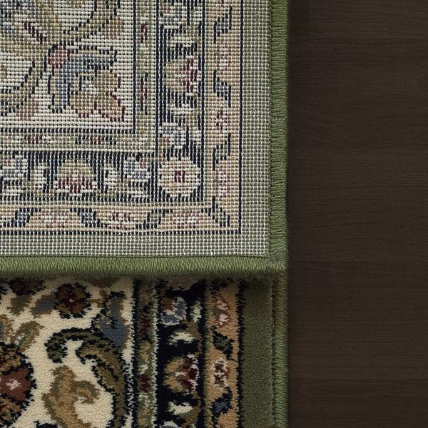 Dynamic Rugs Area Rugs Ancient Garden  Area Rugs  57078-4444 Green Poly 8 Sizes Belgium