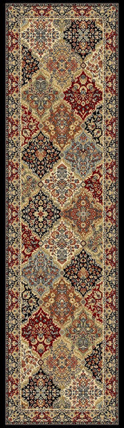 Dynamic Rugs Area Rugs Ancient Garden Area Rugs Panel 57008-3233 Multi Poly 13 Sizes