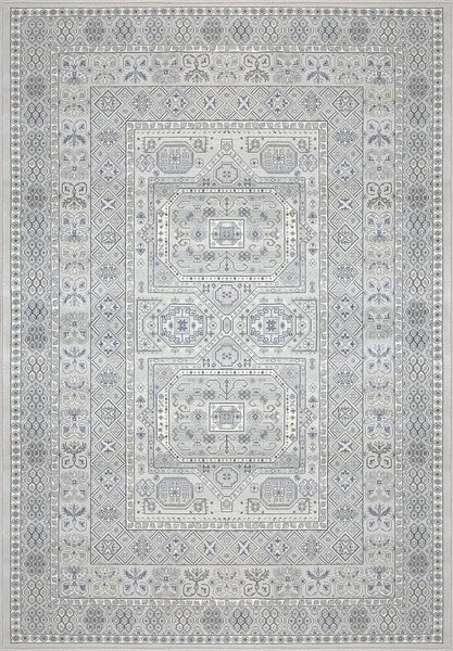 Dynamic Rugs Area Rugs Ancient Garden Grey Area Rugs Geometric 57147-9696  Poly 8 Sizes Belgium