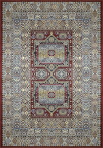 Dynamic Rugs Area Rugs Ancient Garden Red Area Rugs Geometric 57147-1454  Poly 8 Sizes Belgium