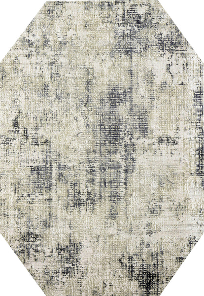 Dynamic Rugs Area Rugs Dynamic Quartz Area Rugs 27035-190 Gold/Grey  Viscose/Polyester 53 Sizes