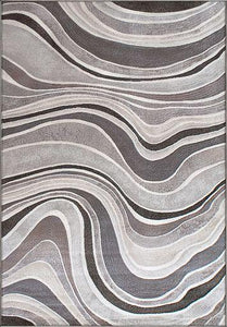 Dynamic Rugs Area Rugs Eclipse Area Rugs 68141-6343 Taupe Unique Area Rug Shapes 37 Sizes