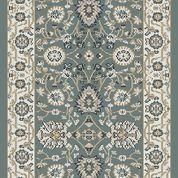 Dynamic Rugs Stair Runners Yazd 2803-150 Teal Stair Runner and Matching Area Rugs