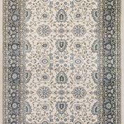 Dynamic Rugs Stair Runners Yazd 2803-190 Iv-Grey Stair Runner and Matching Area Rugs
