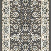 Dynamic Rugs Stair Runners Yazd 2803-910 DK-Grey Stair Runner and Matching Area Rugs