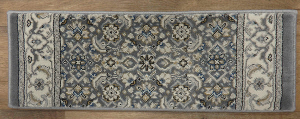 Dynamic Rugs Stair Treads Stair Treads By Dynamic Rugs 57011-5666 DK Grey 26in and 31in By 9in