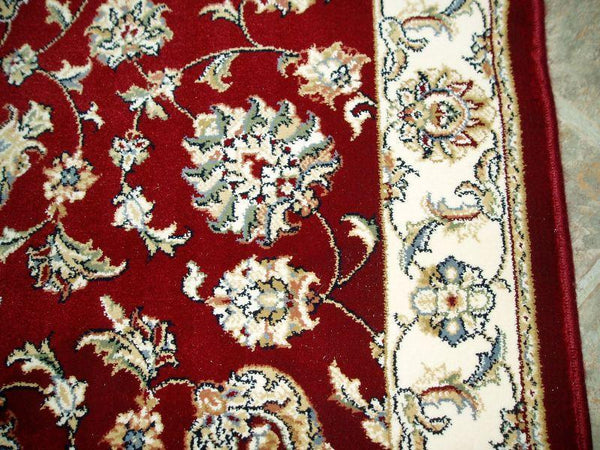 Dynamic Stair Runner 31 in  Ancient Garden Red Stair Runner 57365-1464 - 31 inch Sold By the Foot
