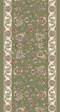 Dynamic Stair Runner Ancient Garden Green Stair Runner 57365-4464 - 26 inch Sold By the Foot