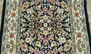 Dynamic Stair Runner Ancient Garden Stair Runner  57078-3434 Navy- 31 inch Sold By the Foot
