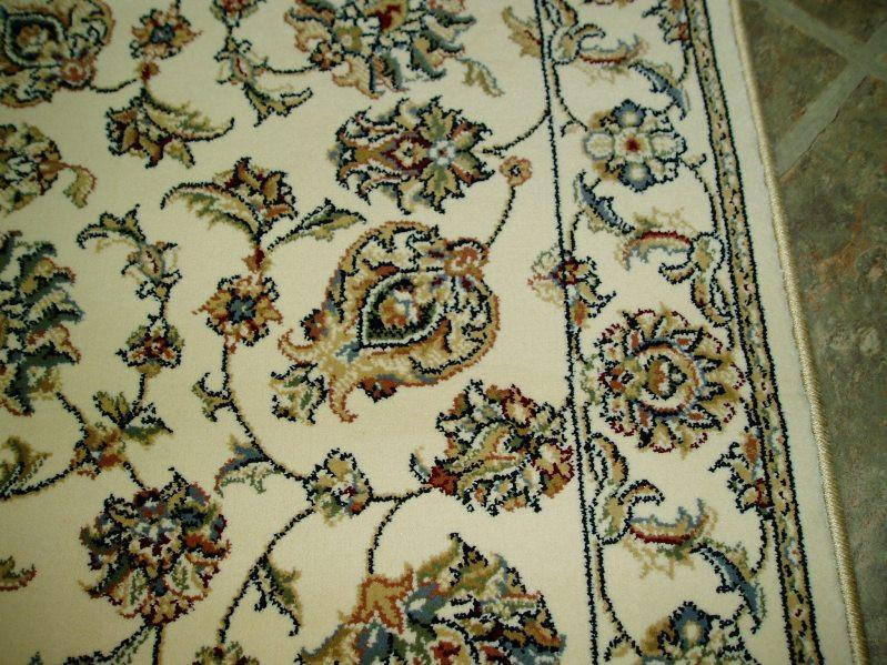 Dynamic Stair Runners 26 in x 1 ft Ancient Garden Ivory Stair Runner 57365-6464 - 26in  Sold By the Foot