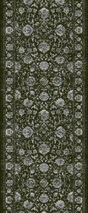 Dynamic Stair Runners Ancient Garden Charcoal Stair Runner 57126-3636 - 31 inch Sold By the Foot