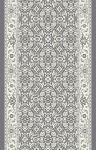 Dynamic Stair Runners Ancient Garden Grey Stair Runner 57011-5666 31in Width Sold By The Foot