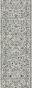Dynamic Stair Runners Ancient Garden Grey Stair Runner 57126-9696 - 31 inch Sold By the Foot