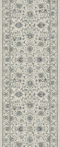 Dynamic Stair Runners Ancient Garden Ivory Stair Runner 57126-6666 - 31 inch Sold By the Foot