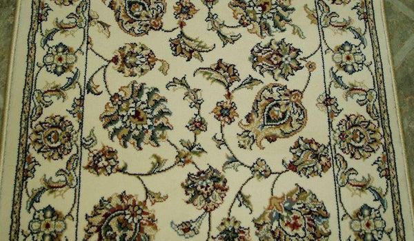Dynamic Stair Runners Ancient Garden Ivory Stair Runner 57365-6464 - 26in  Sold By the Foot