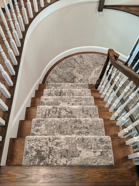 Kane Carpet Stair Runners Profound Victoria 672 Delray Carpet By Kane -Custom Stair Runner Install