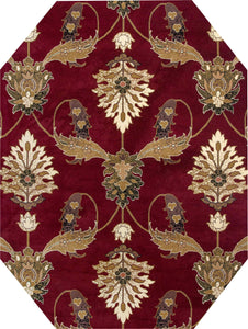 Kas Rugs Area Rugs Cambridge Palazzo 7364 Red Area Rugs In 40 Sizes From China