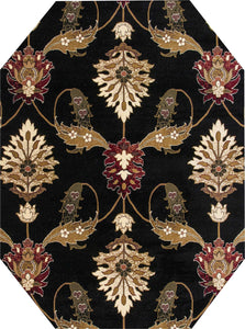 Kas Rugs Area Rugs Cambridge Palazzo 7366 Black Area Rugs In 40 Sizes From China