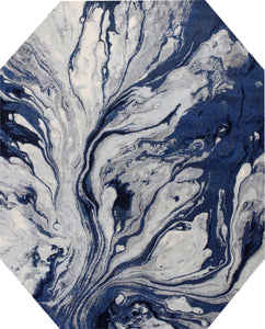 Kas Rugs Area Rugs Illusions 6201 Watercolors Blue Area Rugs In 37 Sizes From Turkey