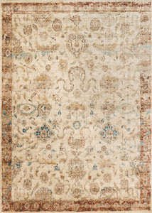 loloi Rugs area rugs 2.7 x 4 Anastasia Area Rugs By Loloi Rugs AF-04 Ivory-Rust 15 Sizes Available