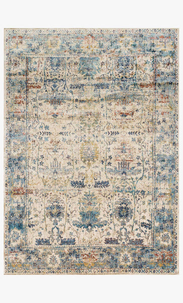 loloi Rugs area rugs 2.7 x 4 Anastasia Area Rugs By Loloi Rugs AF-07 Sand Blue in 15 Sizes