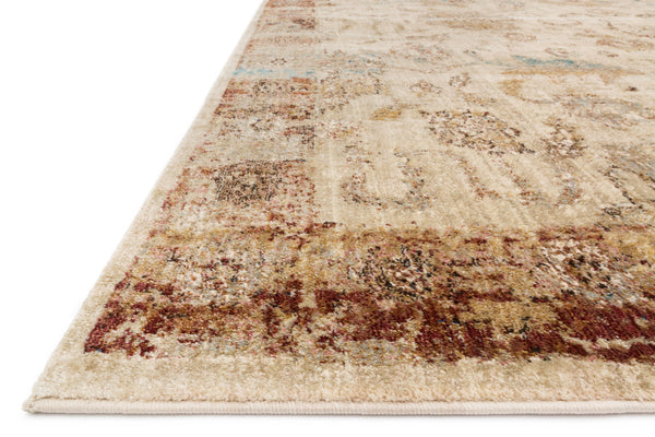 Closeups loloi Rugs area rugs Anastasia Area Rugs By Loloi Rugs AF-04 Ivory-Rust 15 Sizes Available